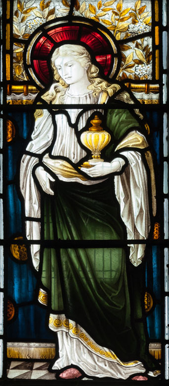 Mary Magdalene - stained glass window